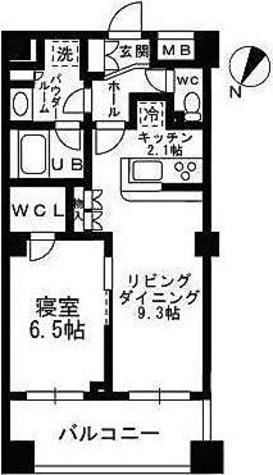 シャンピアグランデ深沢 / 1LDK(45.07㎡) 部屋画像1