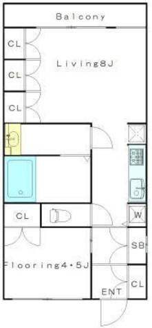 目黒区上目黒4丁目貸マンション 200103 / 202 部屋画像1