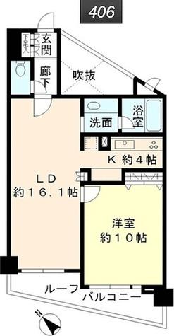 Aden目黒三田 / 1LDK(65.44㎡) 部屋画像1
