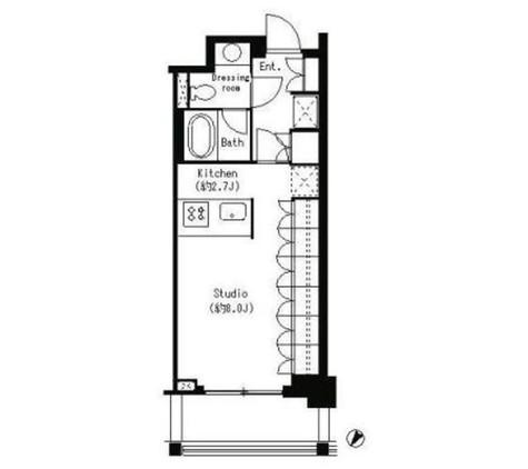 パークキューブ目黒タワー / 320 部屋画像1