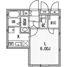 Branche神楽坂 / 1R(21.23㎡) 部屋画像1