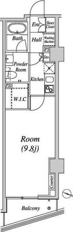 グレイスコート目黒(Grace Court Meguro) / 5階 部屋画像1