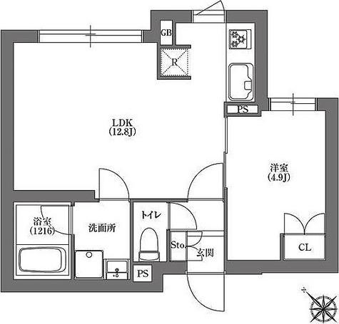 CARITAS不動前 / 1LDK(39.18㎡) 部屋画像1