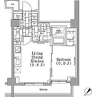 パークハビオ月島 / 1LDK(41.58㎡) 部屋画像1