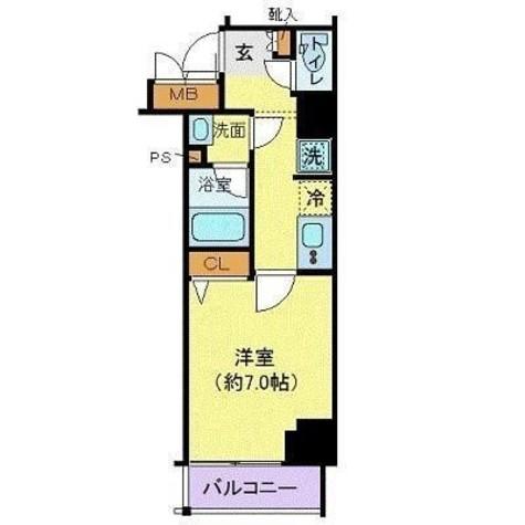 グランヴァン赤坂 / 801 部屋画像1