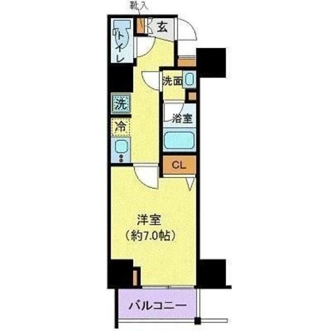 グランヴァン赤坂 / 8階 部屋画像1