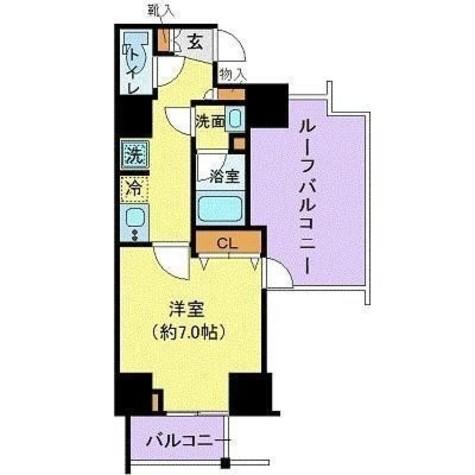 グランヴァン赤坂 / 9階 部屋画像1