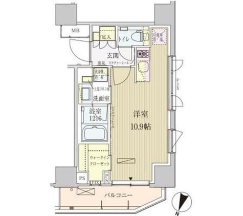 パークアクシス赤坂見附 / 706 部屋画像1