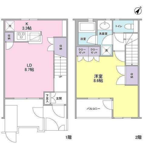 スタイリオ武蔵小山 / 1階 部屋画像1