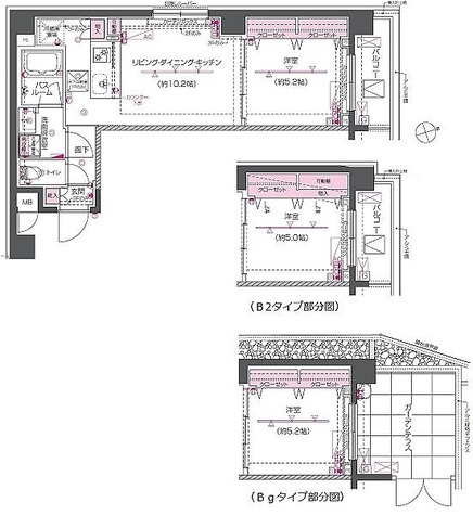 ZOOM戸越銀座 / Bタイプ(40.00㎡) 部屋画像1