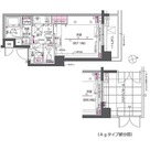 ZOOM戸越銀座 / Aタイプ(24.52㎡) 部屋画像1