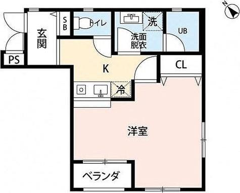 YSレジデンス / 1K(29.18㎡) 部屋画像1