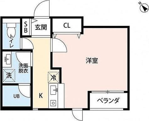 YSレジデンス / 1K(28.50㎡) 部屋画像1