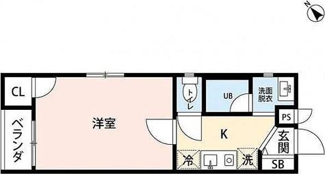 YSレジデンス / 1階 部屋画像1