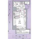 クレヴィスタ戸越銀座 / ワンルーム(21.27㎡) 部屋画像1