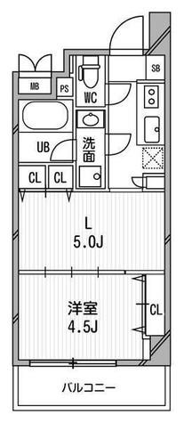 デュオステージ白金高輪 / 3階 部屋画像1