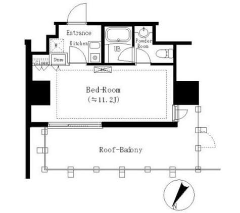 エルスタンザ白金 / 5階 部屋画像1
