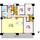ロイヤルパークスERささしま / S-3LDK(128.19㎡) 部屋画像1