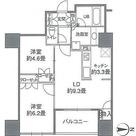 カスタリアタワー品川シーサイド / 60A(55.89㎡) 部屋画像1