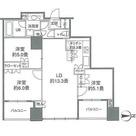 カスタリアタワー品川シーサイド / 70E(69.41㎡) 部屋画像1