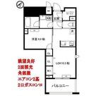 ガーデンヒルズ柿ノ木坂 / 1LDK(40.42㎡) 部屋画像1