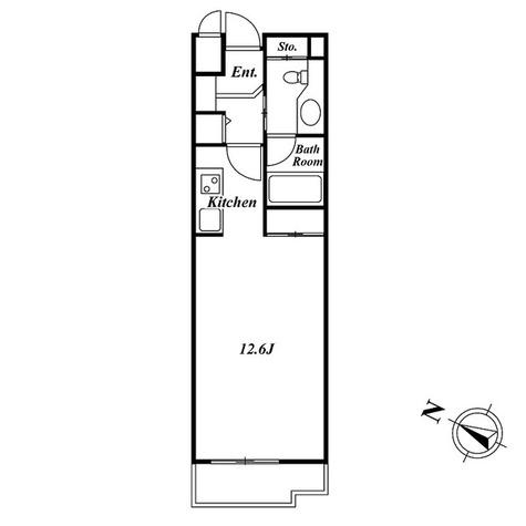 ミルーム南青山 / 2階 部屋画像1