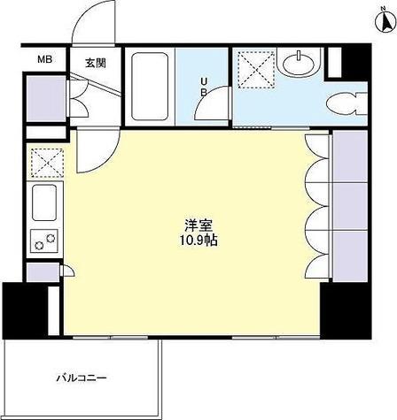 スペーシア新宿 / ワンルーム(30.30㎡) 部屋画像1