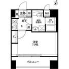 プレール・ドゥーク平和島 / Aタイプ(25.75㎡) 部屋画像1