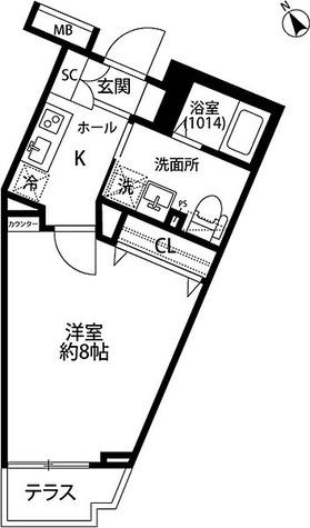 プレール・ドゥーク学芸大学 / Eタイプ(26.67㎡) 部屋画像1