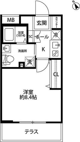プレール・ドゥーク学芸大学 / Bタイプ(25.25㎡) 部屋画像1