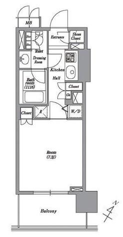 レキシントンスクエア白金高輪 / 3階 部屋画像1