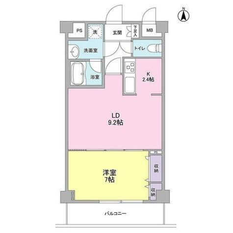 メゾン・ラフィーネ / 111 部屋画像1