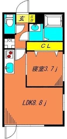 ロータス都立大学 / 1階 部屋画像1