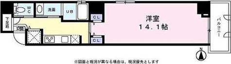 ミライズ秋葉原5番館 / 1K(38.79㎡) 部屋画像1