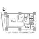 ラ・トゥール汐留 / 1408 部屋画像1