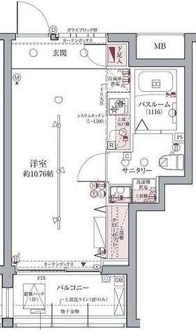 ラグディア高輪(LUXUDEAR) / 2階 部屋画像1