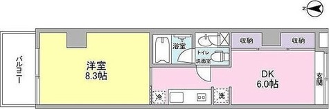 WELLTOWER(ウェルタワー・溝の口) / Kタイプ(39.04㎡) 部屋画像1