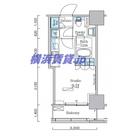パークアクシス横濱関内スクエア / 713 部屋画像1