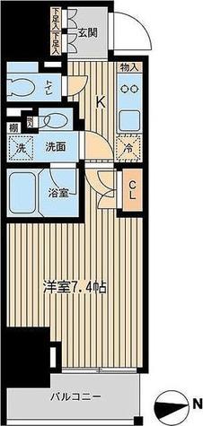 ルフォンプログレ三田 / 2階 部屋画像1