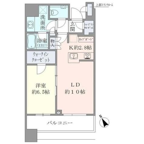 Brillia Towers目黒ノースレジ(ブリリアタワー目黒ノースレジ) / 37階 部屋画像1