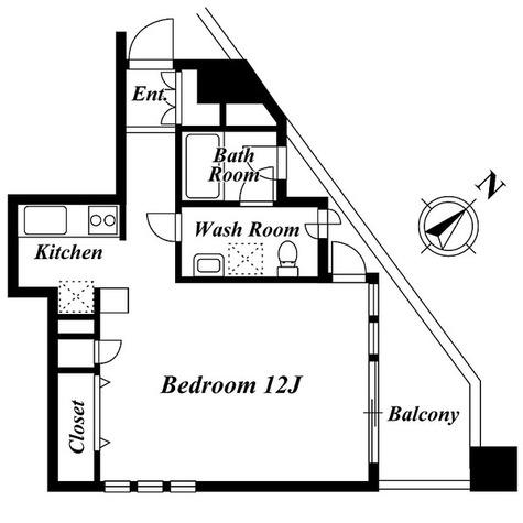 HF目黒レジデンス(旧CIC目黒) / 2階 部屋画像1