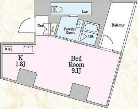 エスティメゾン板橋C6 / ワンルーム(28.40㎡) 部屋画像1