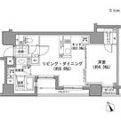 パークハビオ八丁堀 / 1LDK(44.74㎡) 部屋画像1