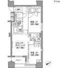 パークハビオ八丁堀 / 2LDK(52.89㎡) 部屋画像1