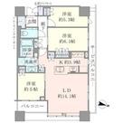 Brillia Towers目黒ノースレジ(ブリリアタワー目黒ノースレジ) / 3610 部屋画像1