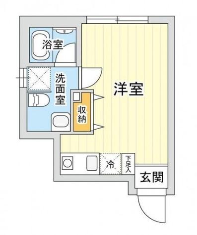 LAZ luminosa.kawasaki / 501 部屋画像1