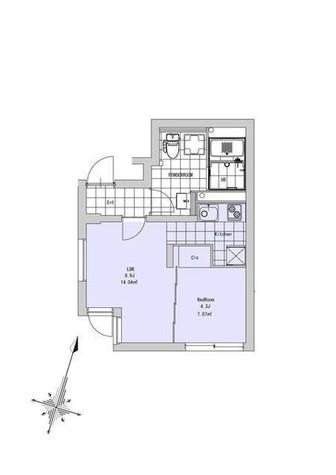 ソウ西小山 / 3階 部屋画像1