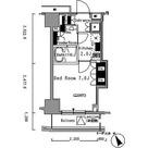 パークアクシス新板橋イースト / 1K(24.21㎡) 部屋画像1