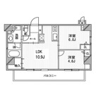 デュオステージ白金高輪 / 705 部屋画像1