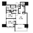ザ・パークハウス千代田麹町 / 2LDK(30.92㎡) 部屋画像1